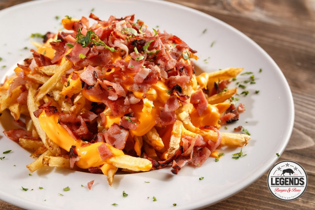 Bacon & cheddar Fries